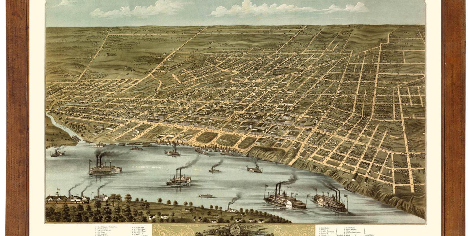 jim-west-memphis-tn-vintage-map